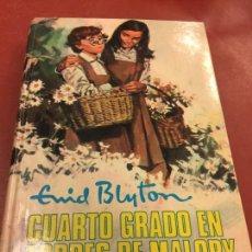 Libros de segunda mano: ENID BLYTON - CUARTO GRADO EN TORRES DE MALORY - COLECCION AVENTURA N.60 - 174PAGS.. Lote 125907403