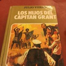 Libros de segunda mano: LOS HIJOS DEL CAPITAN GRANT. CON PAGINAS ILUSTRADAS - 255 PAGS - COLECCION HISTORIAS SELECCION. Lote 125908827