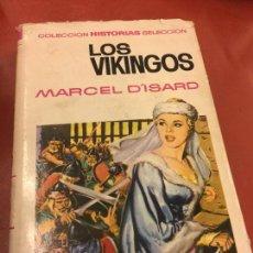 Libros de segunda mano: LOS VIKINGOS CON PAGINAS ILUSTRADAS - 255 PAGS - COLECCION HISTORIAS SELECCION. Lote 125909995