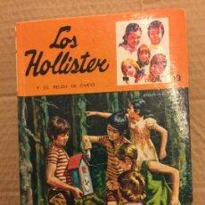 Libros de segunda mano: LOS HOLLISTER Y EL RELOJ DE CUCO. PAGINAS ILUSTRADAS - 194 PAGS - TORAY. Lote 125949411