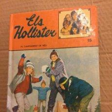 Libros de segunda mano: ELS HOLLISTER AL CAMPAMENT DE NEU - EN CATALÀ -. PAGINAS ILUSTRADAS - 194 PAGS - TORAY. Lote 125949891