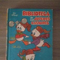 Libros de segunda mano: LIBRO BIBLIOTECA DE LOS JÓVENES CASTORES, NÚMERO 6,WALT DISNEY. Lote 125975435