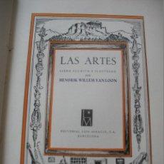 Libros de segunda mano: LAS ARTES. Lote 125997799