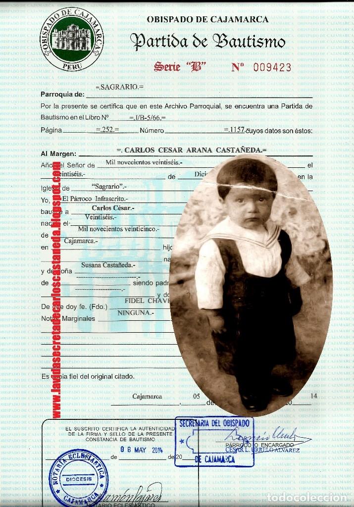 Libros de segunda mano: Libro LA VIDA SECRETA DE CARLOS CASTANEDA. Manuel Carballal. Primera biografia completa de Castaneda - Foto 2 - 138993908