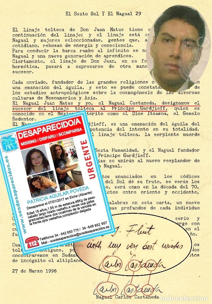 Libros de segunda mano: Libro LA VIDA SECRETA DE CARLOS CASTANEDA. Manuel Carballal. Primera biografia completa de Castaneda - Foto 3 - 138993908
