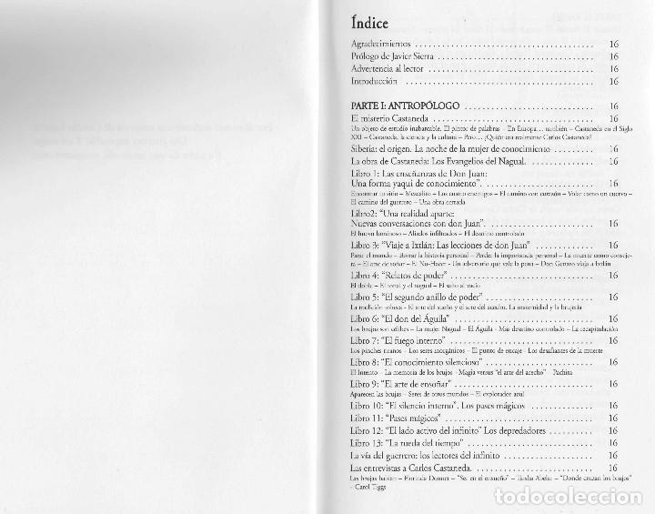 Libros de segunda mano: Libro LA VIDA SECRETA DE CARLOS CASTANEDA. Manuel Carballal. Primera biografia completa de Castaneda - Foto 4 - 138993908