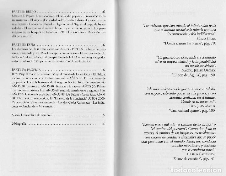 Libros de segunda mano: Libro LA VIDA SECRETA DE CARLOS CASTANEDA. Manuel Carballal. Primera biografia completa de Castaneda - Foto 5 - 138993908