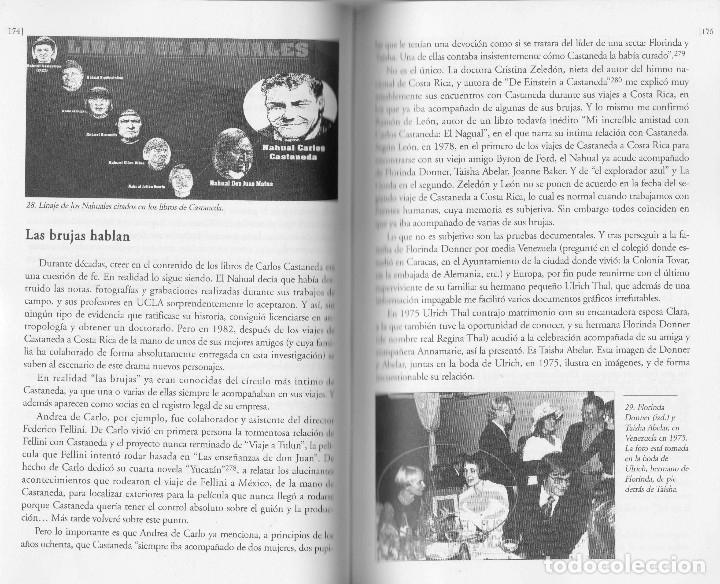 Libros de segunda mano: Libro LA VIDA SECRETA DE CARLOS CASTANEDA. Manuel Carballal. Primera biografia completa de Castaneda - Foto 6 - 138993908