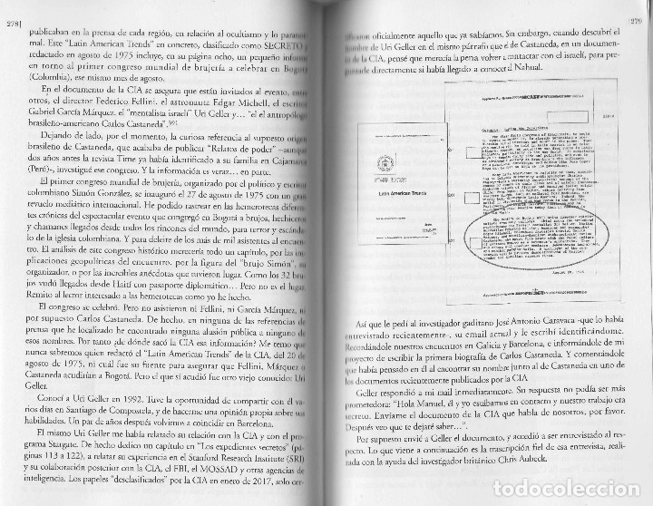 Libros de segunda mano: Libro LA VIDA SECRETA DE CARLOS CASTANEDA. Manuel Carballal. Primera biografia completa de Castaneda - Foto 7 - 138993908