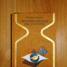 Libros de segunda mano: HENNING, RICHARD. GRANDES ENIGMAS DEL UNIVERSO (OTROS MUNDOS). Lote 126011727