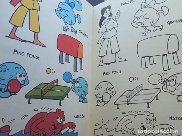 Libros de segunda mano: 4 CUADERNOS PARA PINTAR / ERASE UNA VEZ LA VIDA / COLECCION COMPLETA / EDICIONES B - 1985 / SIN USAR - Foto 4 - 126042211