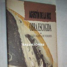 Libros de segunda mano: AGUSTIN DE LA HOZ.OBRA ESCOGIDA.CUEVA DE LOS VERDES.LANZAROTE,CANARIAS.. Lote 126063051