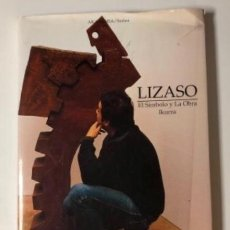 Libros de segunda mano: LIZASO EL SÍMBOLO Y LA OBRA IKURRA. DARBY LOUISE AKADEMIA SERIES. 1ª EDICIÓN 2003. Lote 126070679