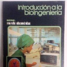 Libros de segunda mano: INTRODUCCIÓN A LA BIOINGENIERIA COORD. JOSÉ MOMPÍN POBLET MARCOMBO BOIXAREU EDITORES, 1988. 316. Lote 126071287