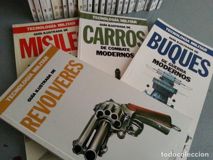 TECNOLOGÍA MILITAR - 30 GUÍAS ILUSTRADAS (AVIONES, BUQUES, CARROS, ARMAMENTO...) - ORBIS, 1986 (Libros de Segunda Mano - Ciencias, Manuales y Oficios - Otros)