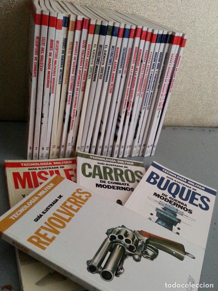 Libros de segunda mano: TECNOLOGÍA MILITAR - 30 GUÍAS ILUSTRADAS (AVIONES, BUQUES, CARROS, ARMAMENTO...) - ORBIS, 1986 - Foto 2 - 126100995