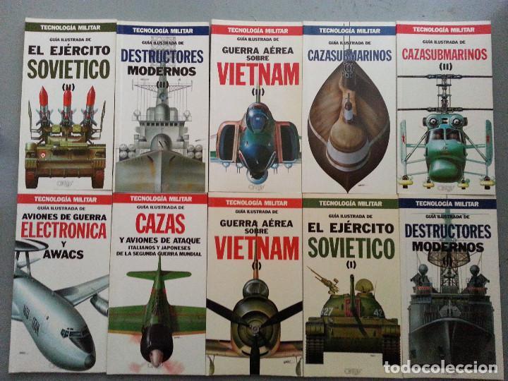 Libros de segunda mano: TECNOLOGÍA MILITAR - 30 GUÍAS ILUSTRADAS (AVIONES, BUQUES, CARROS, ARMAMENTO...) - ORBIS, 1986 - Foto 5 - 126100995