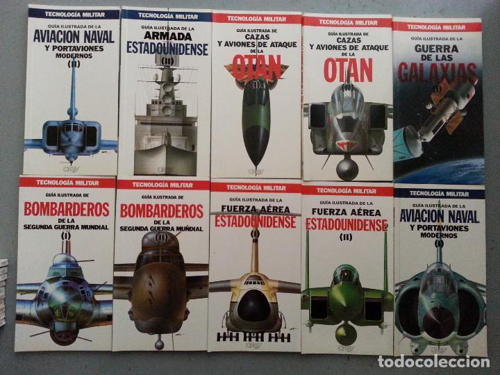 Libros de segunda mano: TECNOLOGÍA MILITAR - 30 GUÍAS ILUSTRADAS (AVIONES, BUQUES, CARROS, ARMAMENTO...) - ORBIS, 1986 - Foto 6 - 126100995