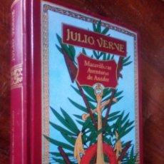 Libros de segunda mano: JULIO VERNE, MARAVILLOSAS AVENTURAS DE ANTIFER. Lote 126107223