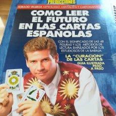 Libros de segunda mano: COMO LEER EL FUTURO EN LAS CARTAS ESPAÑOLAS--HORACIO VALSECIA--LIBRO LATINO-CIRCULO HERMETICO-1997. Lote 126107903