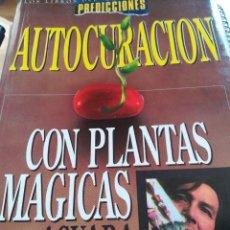 Libros de segunda mano: AUTOCURACION CON PLANTAS MAGICAS--AGUARA-CIRCULO HERMETICO-LIBRO LATINO--1996. Lote 126108143