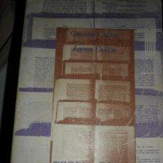 Libros de segunda mano: TEORÍA DE LA NOVELA, GERMÁN GULLÓN Y AGNES GULLÓN, ED. TAURUS. Lote 126111691