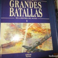 Libros de segunda mano: GRANDES BATALLAS N-1. Lote 126133007