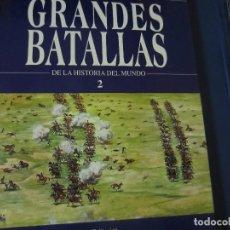 Libros de segunda mano: GRANDES BATALLAS - N-2. Lote 126133063