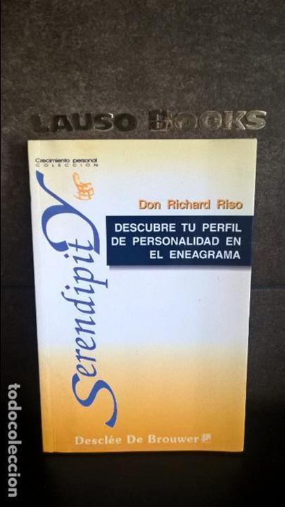 DESCUBRE TU PERFIL DE PERSONALIDAD EN EL ENEAGRAMA. DON RICHARD RISO. SERENDIPIT. DESCLEE 1997. (Libros de Segunda Mano - Pensamiento - Otros)