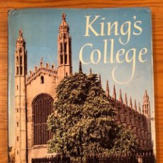 Libros de segunda mano: KING´S COLLEGE-CAMBRIDGE(11€). Lote 126165015
