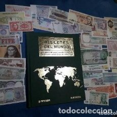 Libros de segunda mano: BILLETES DEL MUNDO LIBRO ALBUM. Lote 126223119