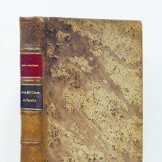 Libros de segunda mano: MANUEL RICO Y SINOBAS. EL ARTE DEL LIBRO EN ESPAÑA. 1941. ENC. EN PLENA PIEL, PASTA ESPAÑOLA. Lote 126247380