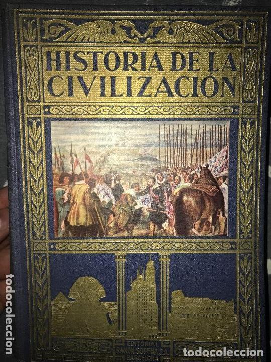 ANTIGUO LIBRO HISTORIA DE LA CIVILIZACIÓN TOMO II SOPENA (Libros de Segunda Mano - Historia - Otros)