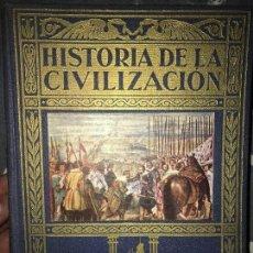 Libros de segunda mano: ANTIGUO LIBRO HISTORIA DE LA CIVILIZACIÓN TOMO II SOPENA. Lote 126335039