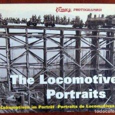 Libros de segunda mano: LINSEY, LOCOMOTIVE PORTRAITS - 1996 - HISTORIA, FOTOGRAFÍA, FERROCARRIL, LOCOMOTORAS, TRENES. Lote 126354983