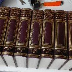 Libros de segunda mano: DICCIONARIO ENCICLOPÉDICO SALVAT / COMPLETO 12 TOMOS / SALVAT 1954. Lote 126378691