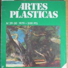 Libros de segunda mano: ARTES PLÁSTICAS. ESPECIAL BALEARES. Nº 29-30, 1979. Lote 126496759