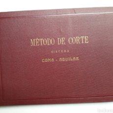 Libros de segunda mano: PATRONAJE MODA - MÉTODO DE CORTE SISTEMA, AGUILAR. Lote 126544220