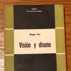 Libros de segunda mano: VISIÓN Y DISEÑO COPIA(29€). Lote 126551843