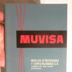 Livros em segunda mão: MANUAL TÉCNICO DE ABRASIVOS Y MUELAS MUVISA MUELAS VITRIFICADAS Y ESPECIALIDADES, S.A. ARENYS DE MAR. Lote 126627067