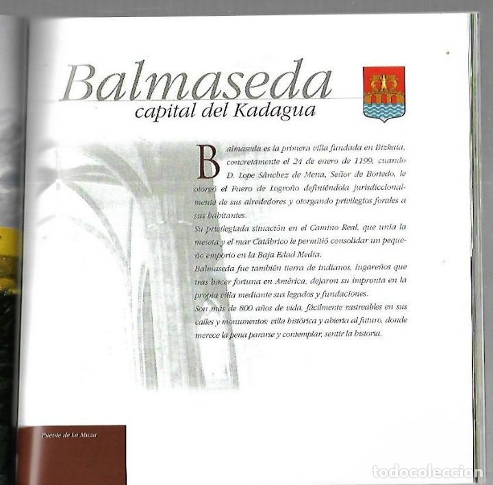 Libros de segunda mano: ENCARTACIONES. GUIA DEL PATRIMONIO ARTISTICO. 2002. GOBIERNO VASCO. VER - Foto 4 - 126631023