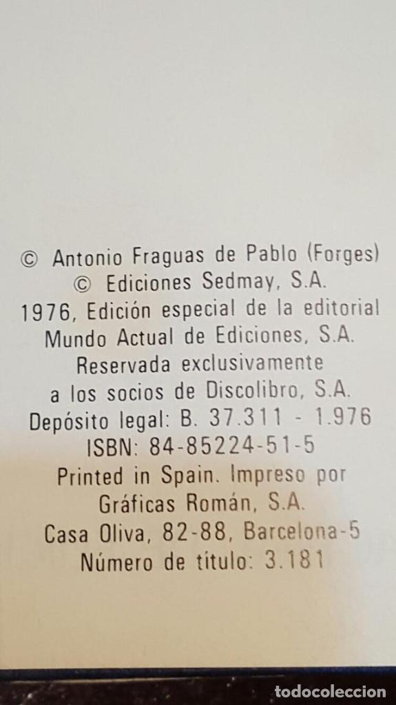 Libros de segunda mano: Antologia de Forges - Nº 2. Mundo Actual de Ediciones, S.A. EDICION ESPECIAL 1976 - Foto 4 - 126681947