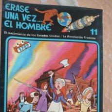 Libros de segunda mano: ERASE UNA VEZ EL HOMBRE Nº 11 - EDICIONES JUNIOR - AÑO 1978/1979 - GRUPO EDITORIAL GRIJALBO. Lote 126701895