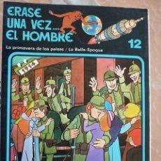 Libros de segunda mano: ERASE UNA VEZ EL HOMBRE Nº 12 - EDICIONES JUNIOR - AÑO 1978/1979 - GRUPO EDITORIAL GRIJALBO. Lote 126701935