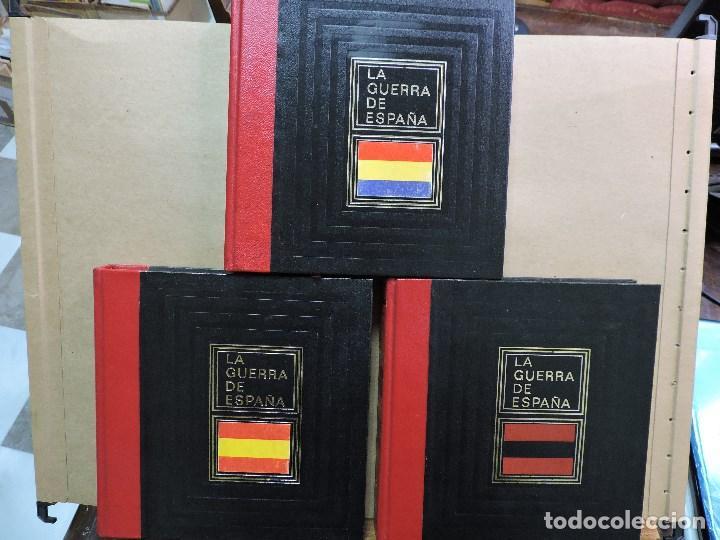 LA GUERRA DE ESPAÑA TOMOS 1, 2 Y 3. DE GAULE, JACQUES. ED. CIRCULO DE AMIGOS DE LA HISTORIA. (Libros de Segunda Mano - Historia - Otros)