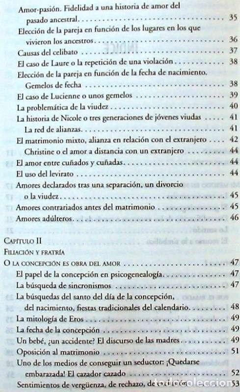 Libros de segunda mano: PSICOGENEALOGÍA APLICADA - PAOLA DEL CASTILLO - ED. OBELISCO 2013 - VER INDICE - Foto 4 - 126729663