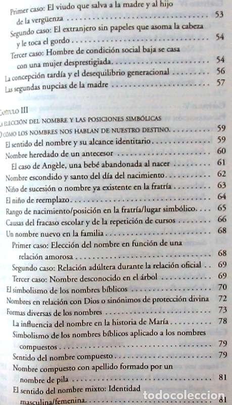 Libros de segunda mano: PSICOGENEALOGÍA APLICADA - PAOLA DEL CASTILLO - ED. OBELISCO 2013 - VER INDICE - Foto 5 - 126729663