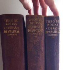 Libros de segunda mano: ETERNAS, TIRSO DE MOLINA, AGUILAR. Lote 126746723