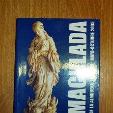 Libros de segunda mano: CONFERENCIA EPISCOPAL ESPAÑOLA. INMACULADA : LIBRO DE IMÁGENES : SANTA IGLESIA CATEDRAL DE SANTA MAR. Lote 126782935