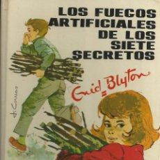 Libri di seconda mano: ENID BLYTON-LOS FUEGOS ARTIFICIALES DE LOS SIETE SECRETOS.JUVENTUD.1982.. Lote 126787707
